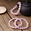 Thumbnail: Pink Quartz Beads Bracelet Natural Rose Crystal, 10mm