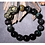 Thumbnail: Exclusive Pixiu Bracelets 14mm Colored Obsidian Bead Strands
