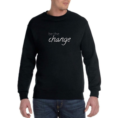 Be the Change Crewneck - Black
