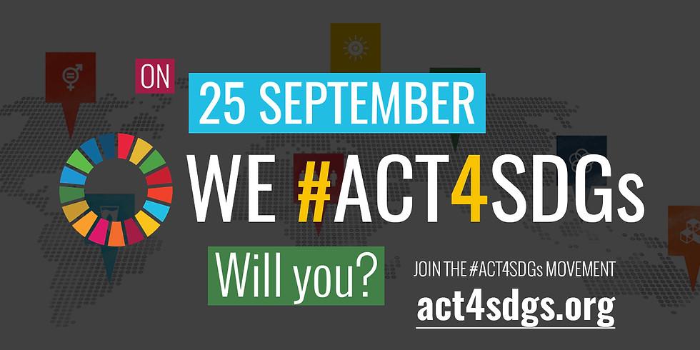 #ACT4SDGS