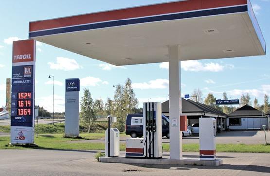Teboil-polttoainejakelu