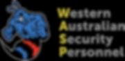 WASP Logo Combo (Dark Background) Black.