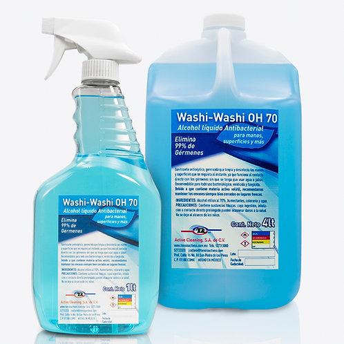 Atomizador sanitizante 1 L mas 1 Galón washi washi hazte palla sana distancia