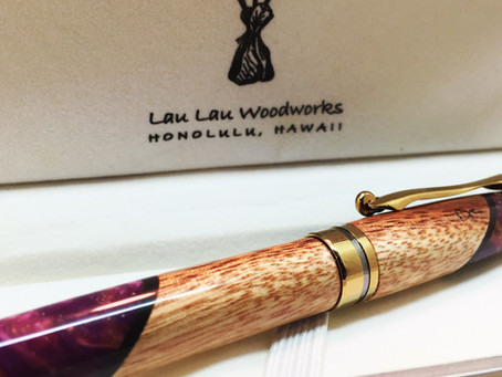 A Classy Spin on a Classic European Pen