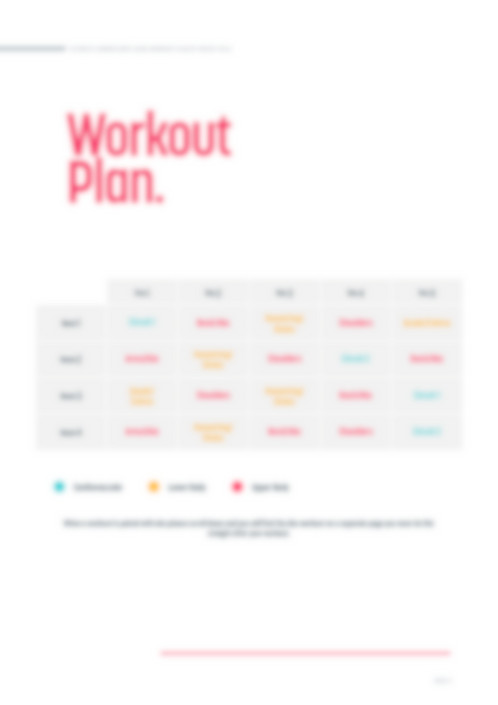 This 4 Week Workout Program Is Designed To Sculpt And Tone Your Entire Body Perfection Plan Gym Based As Weights Are Required
