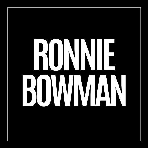 Ronnie Bowman - Ronnie Bowman - CD