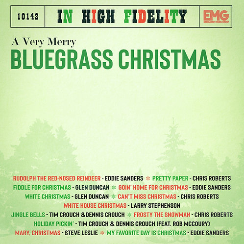 A Very Merry Bluegrass Christmas - Various Artists - CD