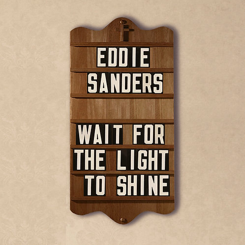 Wait For The Light To Shine - Eddie Sanders - CD