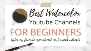 Learn Watercolor for Free with YouTube!