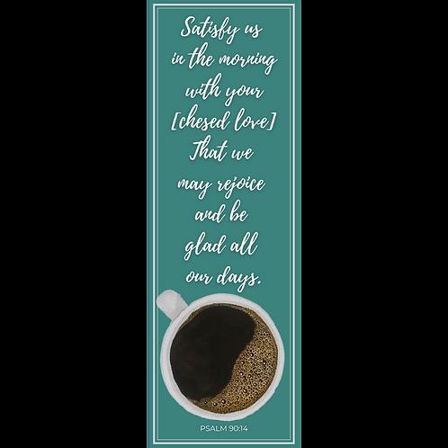 Coffee Scripture Bookmark