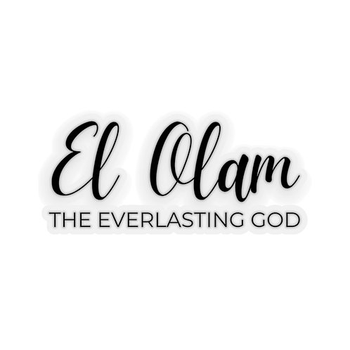 Name of God Sticker: El Olam, Everlasting God