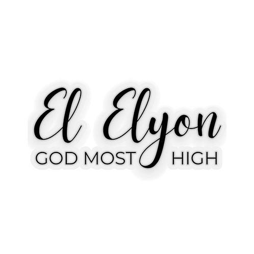 Name of God Sticker: El Elyon, God Most High