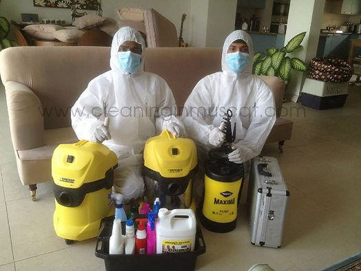 About Us - Cleaning in Muscat