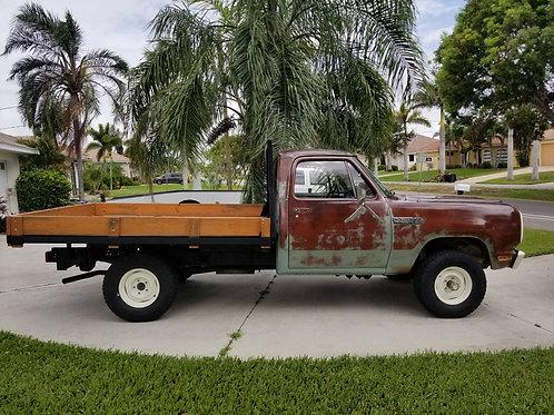 1979 Dodge Power Wagon W150 4X4