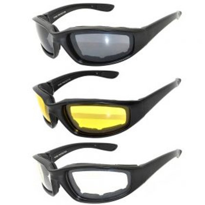 Assorted Padded Riding Glasses