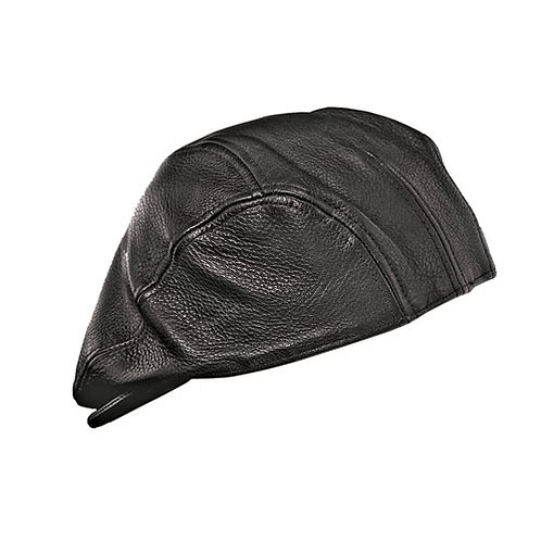 Black Leather Ascot