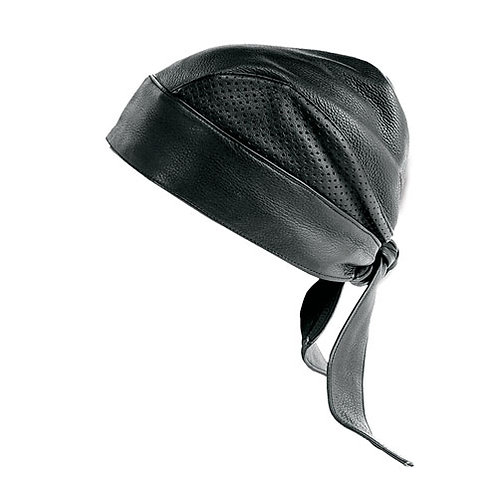 Perforated Leather Head Wrap