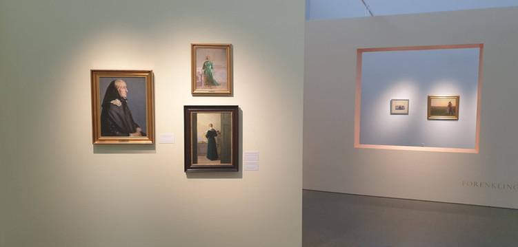 LILLEHAMMER KUNSTMUSEUM- Anna Ancher,  Skagens indre og ytre rom