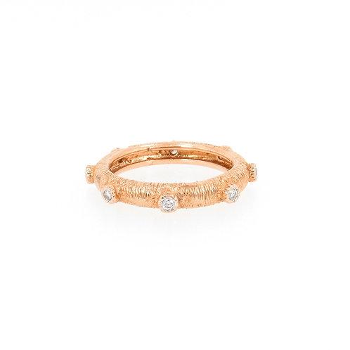 0.33ctw Round Diamonds Eternity Ring Turned