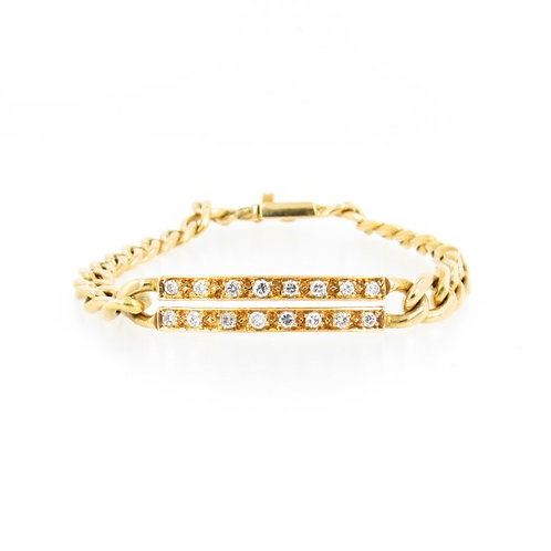 0.60ctw Diamonds Bracelet Front