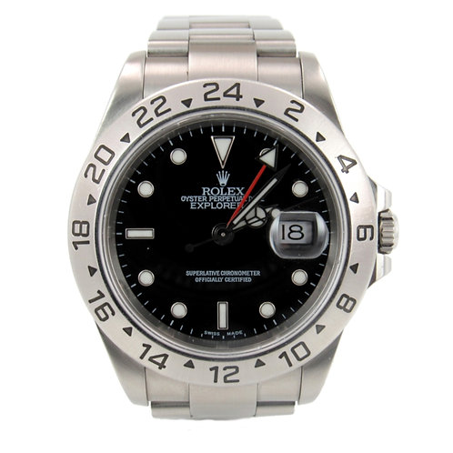 Rolex Explorer II Men's Watch Stainless Steel