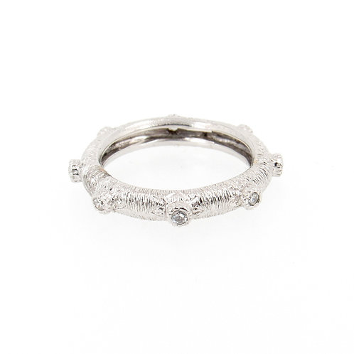 0.33ctw Round Diamonds Eternity Ring Turned