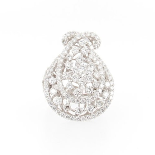 4.32ctw Round Diamonds Fashion Ring Front
