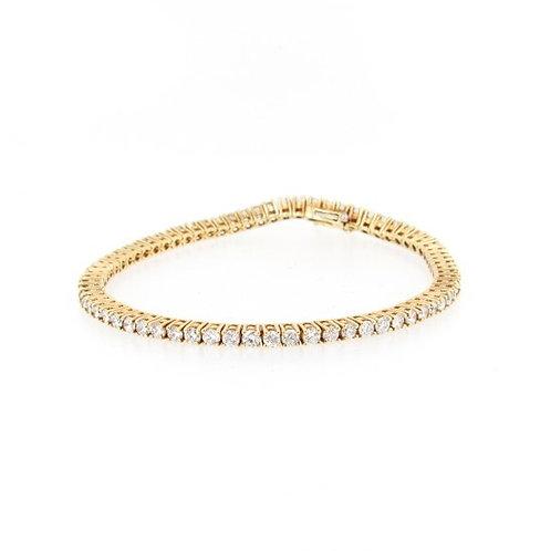3.00ctw Diamonds Tennis Bracelet Front