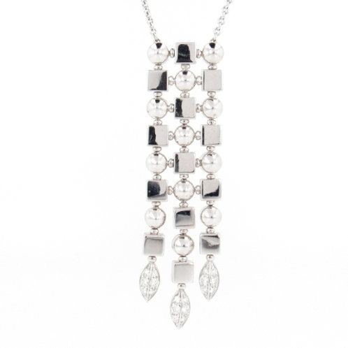 0.50ctw Diamonds BVLGARI Necklace Front