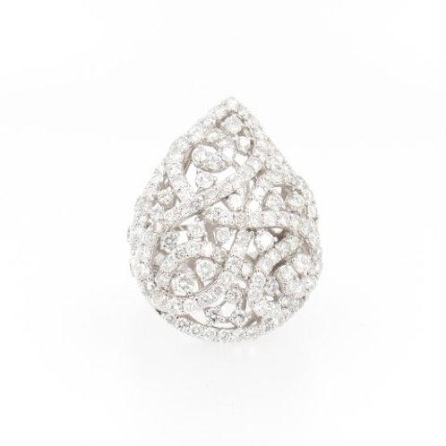 5.26ctw Round Diamonds Fashion Ring Front