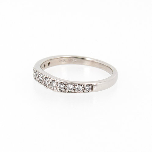 0.20ctw Round Diamonds Wave Ring