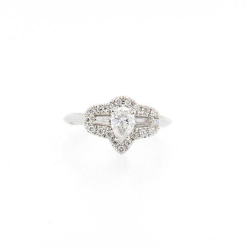 0.75ctw Diamonds Mix Ring Front