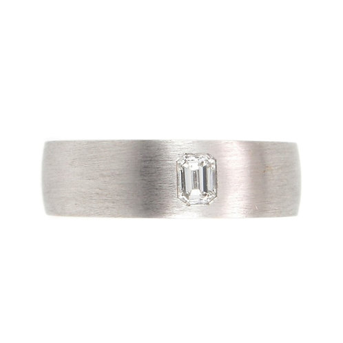 0.30ctw Emerald Cut Diamond Solitaire Men Ring