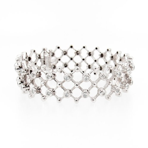 2.40ctw Diamonds Bracelet Front