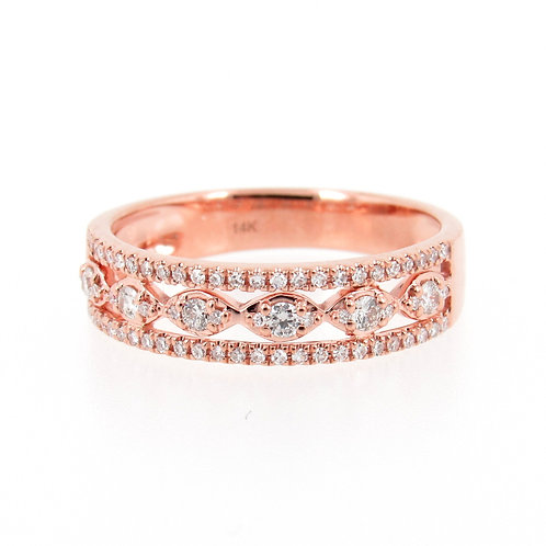 0.31 ctw Diamond Ring Front