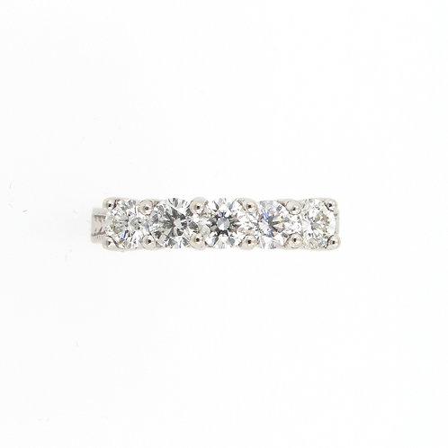 1.00ctw 5 Diamonds Anniversary Ring