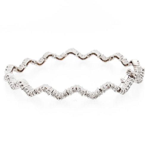 2.50ctw Diamonds Journey Bracelet Front