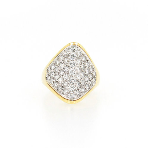 2.00ctw Diamonds Fashion Pave Ring Front