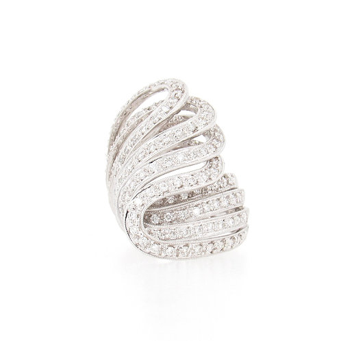 1.38ctw Diamonds Eternal Flame Ring Front
