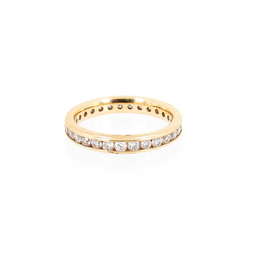 1.16ctw Round Diamonds Eternity Ring Turned
