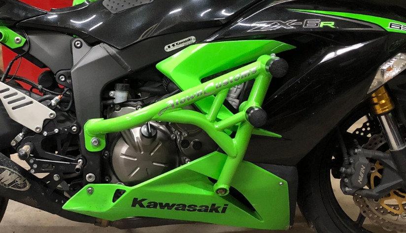 09-20 zx6r Crash Cage