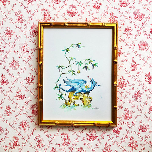 Chinoiserie Vignette: Dragon