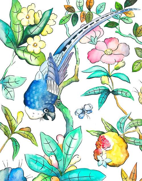 Birds & Flowers 2