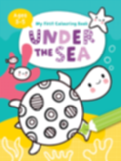My First Colouring - Under the Sea