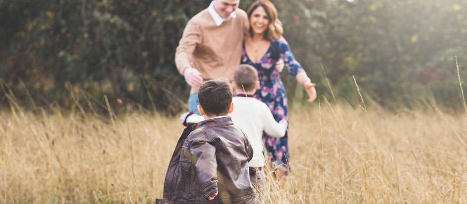 PORTLAND FAMILY PHOTOGRAPHER | JOYFUL FALL FAMILY SESSION