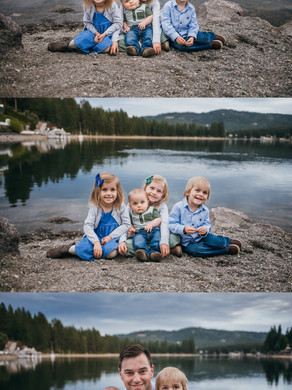 COUER D'ALENE FAMILY PHOTOGRAPHER | FAMILY SESSIONS BY THE RIVER