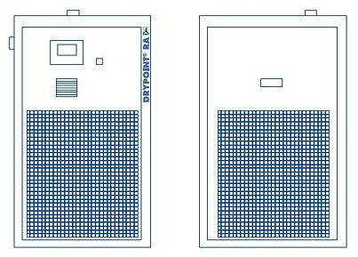 ra vsd series refrigeration dryers diagr