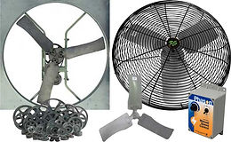 LB White Fans and Cooling Systems