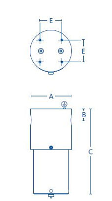 HP high pressure filters with gauge diag