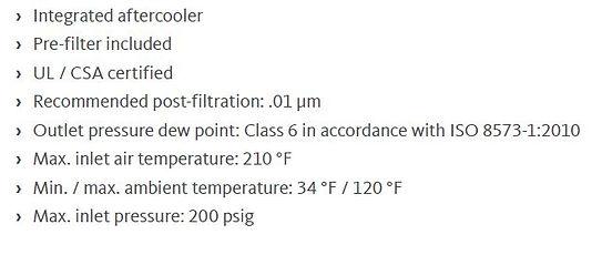 RA HT High Inlet Temperature Refrigerati